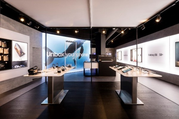 © Tailormate – Samsung Pop-up store (BE)